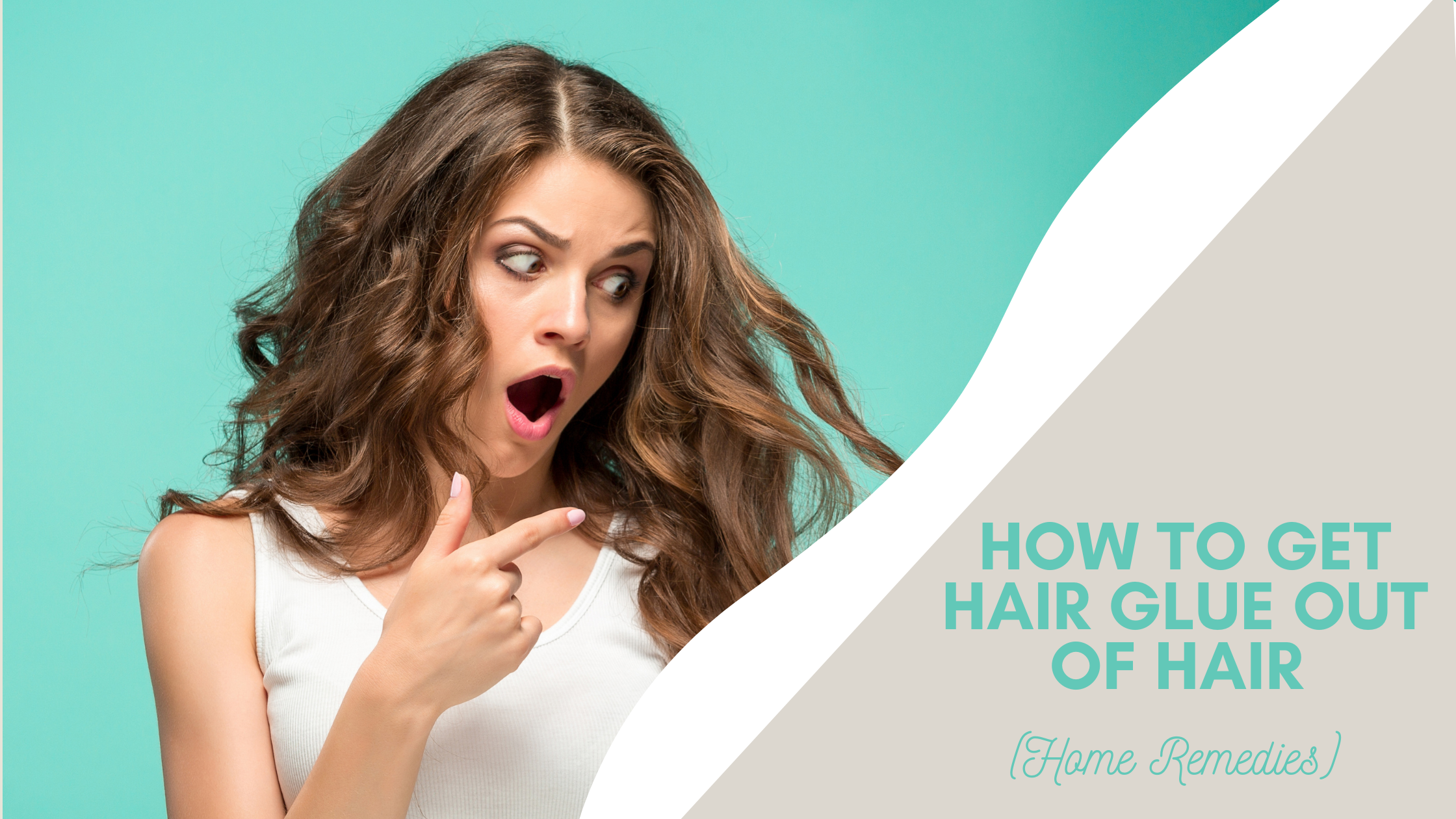 how to remove hair glue from your hair