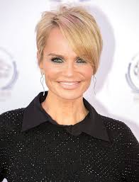 side parting pixie cut