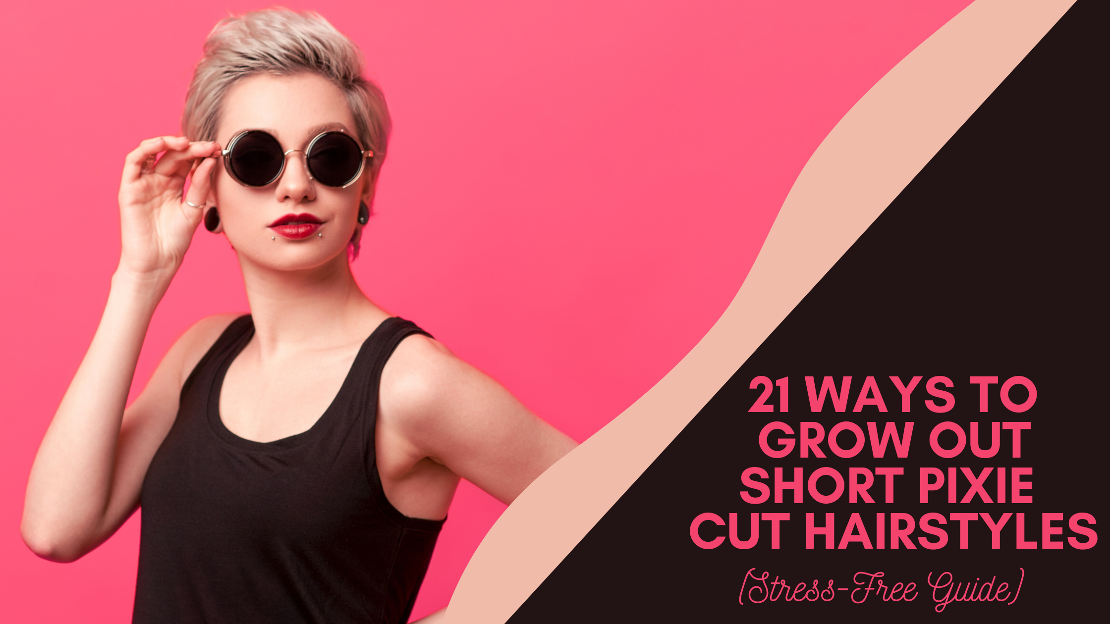 ways to grow a short pixie cut