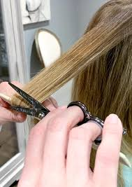 dusting your hair for split ends