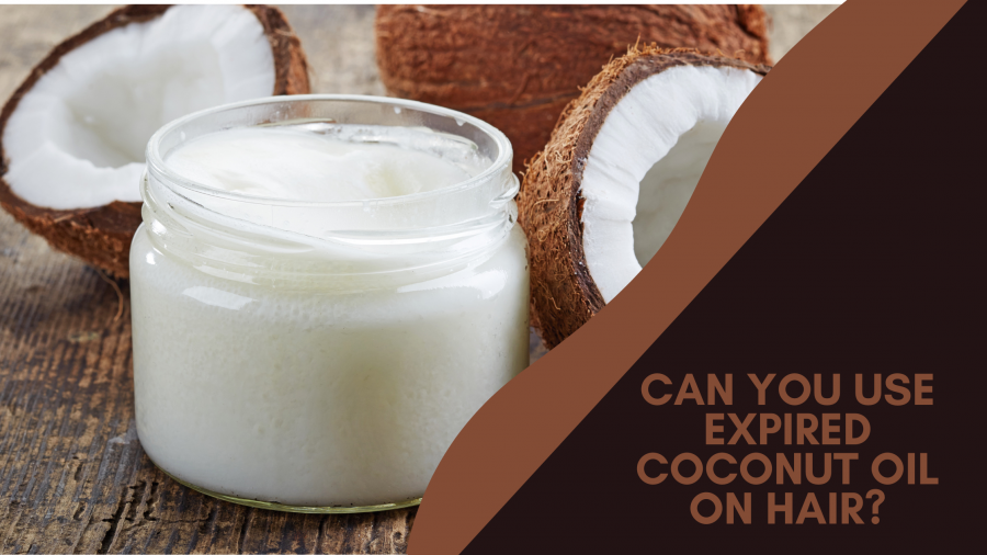 can you use expired coconut oil on hair