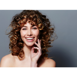 curly hair type